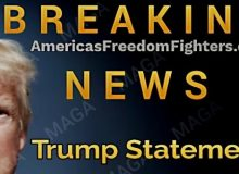 ***DRAFT /BREAKING: WATCH Trump Deliver BOMBSHELL Warning To America- Makes One Of The Announcements We've All Been Waiting For