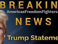 BREAKING: President Trump Issues Statement SLAMMING Biden- It's HARDCORE!