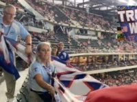"""WATCH: Patriot Drops """"Trump Won"""" Banner At MLB Game…Tells Security """"They STOLE Our Election""""- They Respond, """"WE KNOW!"""""""