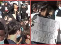 WATCH As Over 1000 SNOWFLAKE Students Protest Racist Anti-Black Graffiti Sprayed All Over School- There's Just One MAJOR Problem!