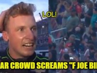 """EPIC VIDEO! Watch As ENTIRE PACKED NASCAR Crowd Screams """"F JOE BIDEN""""- This Is The BEST Thing You Will See Today!!!!"""