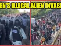 ALERT: Another Army Of ILLEGAL ALIENS Is Headed Towards The Southern Border- LOOK WHERE BIDEN IS! #FJB [VID]