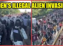 ALERT: Another Army Of ILLEGAL ALIENS Is Headed Towards The Southern Border- LOOK WHERE BIDEN IS! #FJB [VID