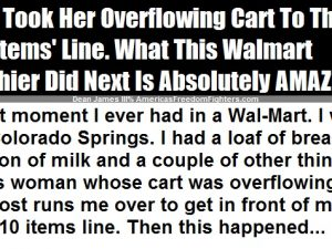 "Lady Takes A Full Cart To The ""10 Items Or Less"" Line – Then, THIS Happened!"