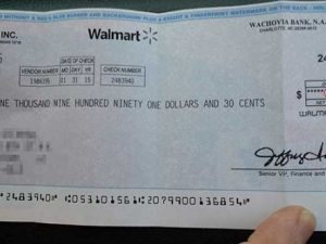Take A Look At Your Mail Today And IF You Got A Check From Walmart, It Means…