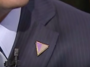 Have You Noticed The Mysterious Triangle Pins Trump's People Wear? Here's What They Mean...