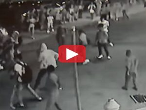 WATCH: Mob Of 150 Feral Black Thugs Riot And BEAT THE HELL Out Of White People- Obama's America