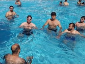 ISIS Hosts A Jihad Pool Party, Then A Few 'Uninvited' Guests Show Up In Their F-16 Fighter Jets...