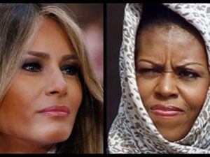 Michelle Obama's Designer Refuses to Dress Melania Trump, But Look Who Gets The LAST Laugh...