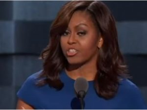 Nasty Michelle Obama Takes Over Stage And Makes DISGUSTING Statement