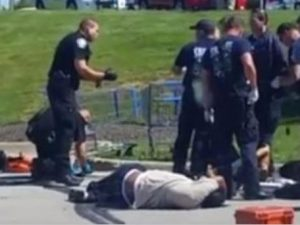 Iraq Vet SHOT While Saving Woman And Baby Being Attacked By BLM THUGS, Media SILENT For THIS Reason