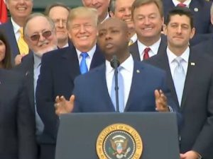 BREAKING NEWS From Tim Scott. After Liberals Attack Him With Racial Slurs