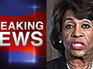 BREAKING NEWS From MAXINE WATERS... SHE FINALLY SAID IT! WE KNEW IT!!!!