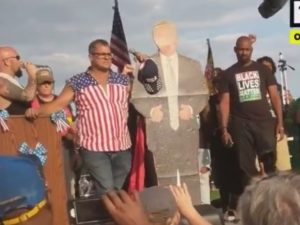 VIDEO: Trump Supporters INVITE #BLM Members On STAGE, Let Them Speak… Check Out SHOCK Result