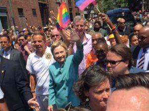 Hillary Clinton Arrives At Gay Pride Parade, Then People Notice A MAJOR Problem